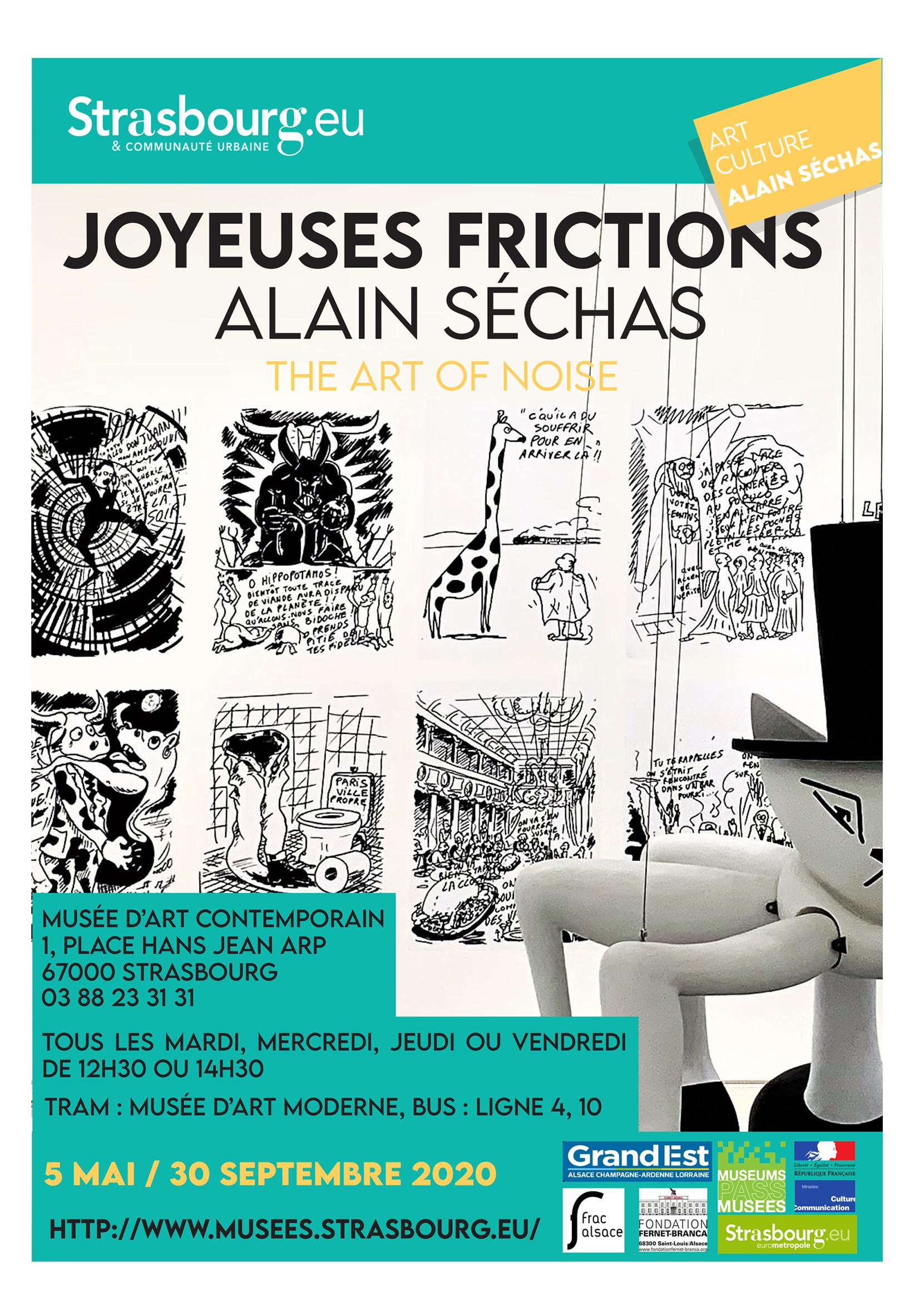 """Présentation affiche """"Joyeuses frictions"""" - portfolio"""