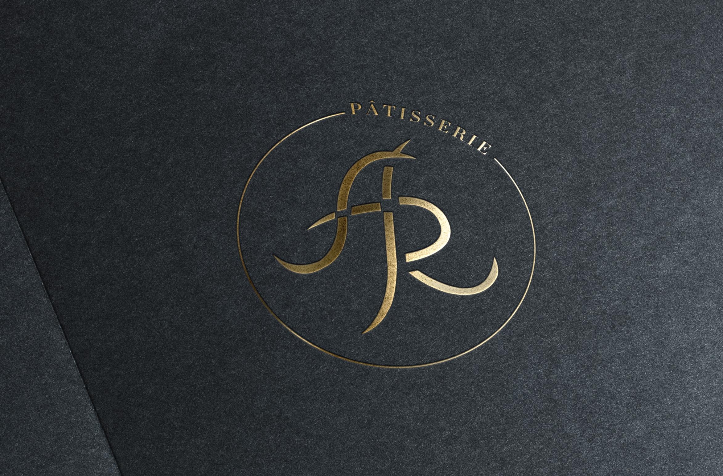 Présentation d'un logo pour un pâtissier - portfolio