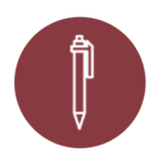pictogramme stylo - graphiste